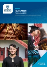 Tauira Māori Prospectus 2018 (thumbnail)