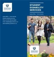 Thumbnail for our Information for students with disabilities brochure