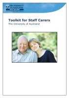 Thumbnail of our Toolkit for Staff Carers