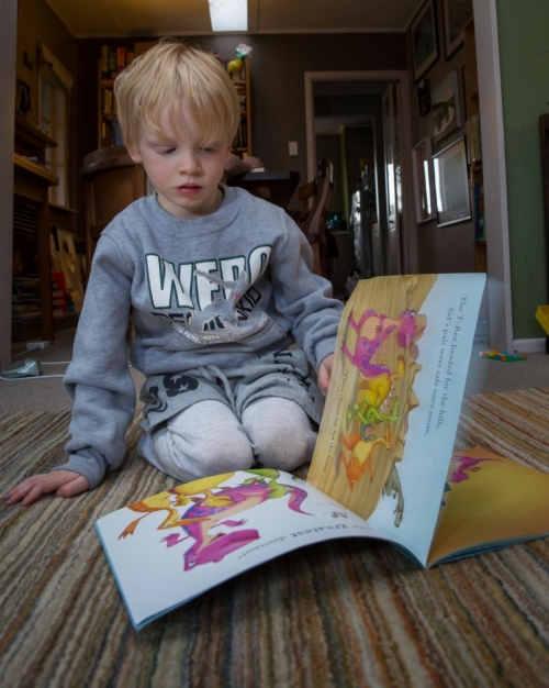 4.5 boy reading 2