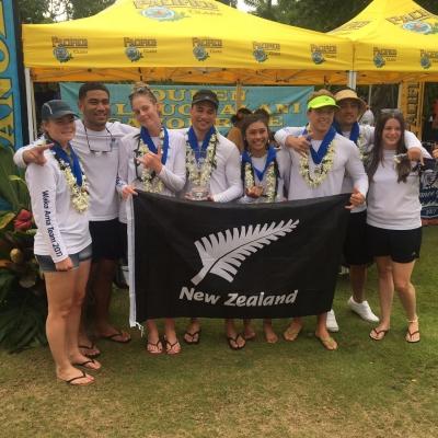 Waka ama team 2017