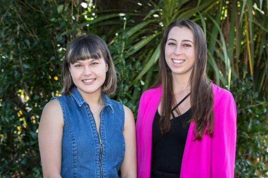 Co-leaders US Leadership Tour  2018  Penelope Jones and Victoria Brownlee