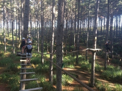 High Ropes board