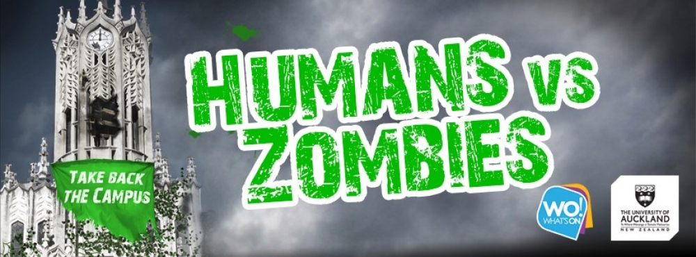 Humans vs. Zombies - take back campus