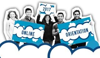 Online Orientation banner