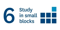 Study in small blocks